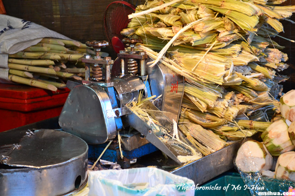 You must try the Sugar Cane drink