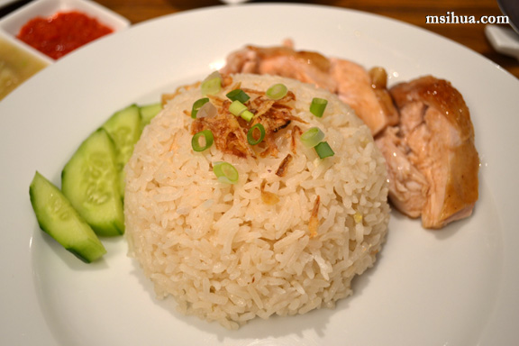 Roast Hainanese Chicken Rice with Chilli & Ginger Sauce Recipe