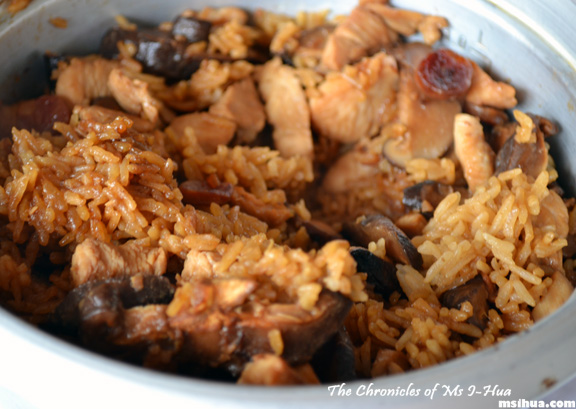 Revisit claypot chicken rice with a rice cooker recipe ms i hua claypot chicken rice recipe forumfinder Gallery