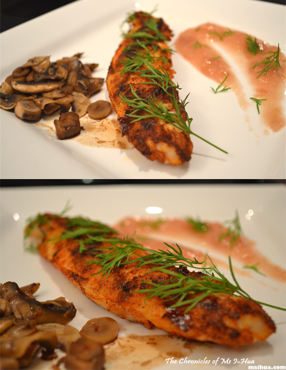 The kitchen files episode 04 something different ms for Grilled fish seasoning