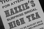 Surprise Bridal High Tea {#HazHighTea} @ Collins Kitchen, Grand Hyatt Melbourne