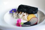 'Charcoal' – Beef Eye Fillet & Lamb Backstrap in Squid Ink Recipe