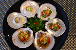 Scallops Served in Three Ways Recipe