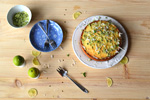 Baking Frenzy – Lime, Coconut & Olive Oil Cake Recipe