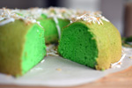 Memories from Malaysia: Pandan Chiffon Cake