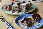 Double Chocolate Lamingtons Recipe
