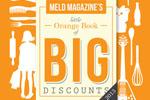 Meld Magazine's Little Orange Book of BIG Discounts 2013 – Giveaway!