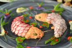 Retro Party Recipe: Twin Koi Fish Shaped Salmon Rillettes
