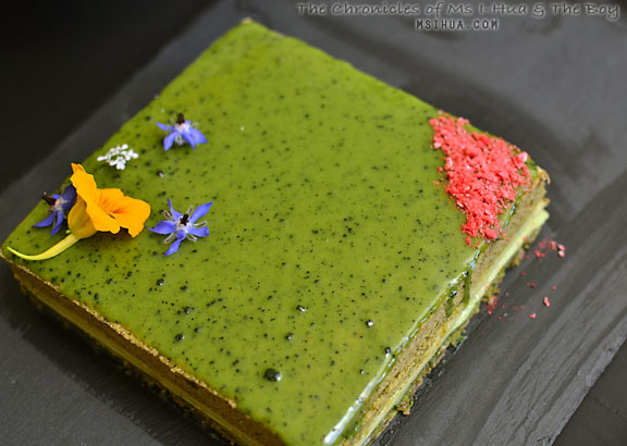 matcha opera gateau green tea layer cake recipe ms i. Black Bedroom Furniture Sets. Home Design Ideas