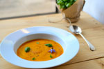 Roasted Pumpkin Purée with Spectablend Heavy Duty Blender