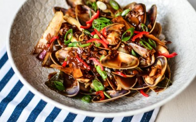 Kam Heong La La (Pipies / Clams in Spicy Fragrant Sauce) Recipe