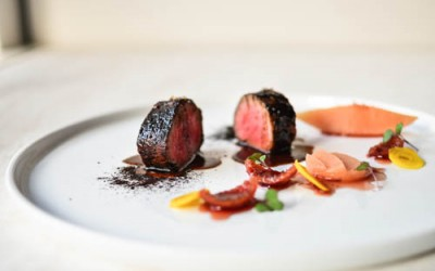 Playground: Roasted 30 Day Aged Angus Eye Fillet, Quandong & Quince