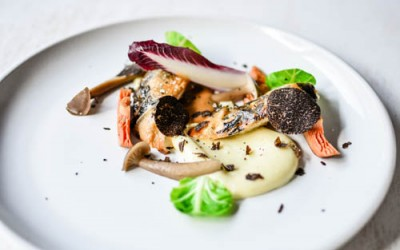 Playground: Roasted Poussin with Winter Black Truffles