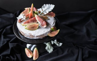 Coconut & Fig Olive Oil Cake Recipe