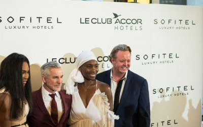 Serena Williams Ace with a Bombe Alaska at Le Accor Club's VIP Cocktail Evening