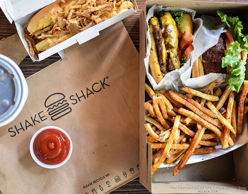 NYC: Shake Shack @ Madison Square Park & Upper West Side