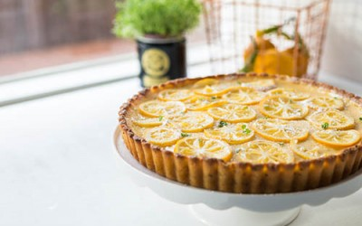 Lemon Thyme Tart Recipe