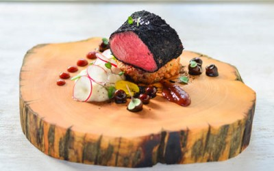 Playground: Sous Vide Venison, Crispy Truffle Risotto, Muntries