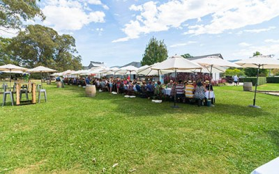 #Throwback – MFWF 2016: World's Longest Lunch (Regional) – Dal Zotto Wines, King Valley